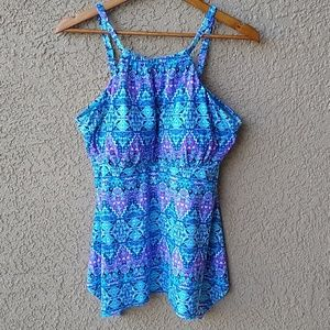 Swimsuits For All Tankini Set NWT 16
